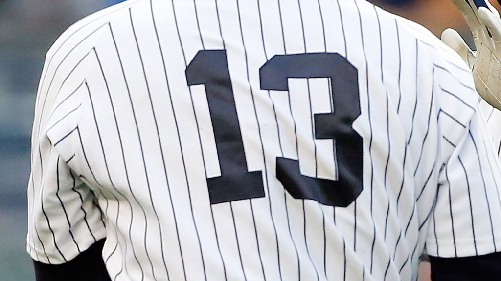 watch 9d419 54460 Like A-Rod Himself, #13 Jerseys Missing At Yankees Spring ...