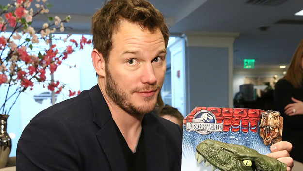 "Chris Pratt stars in ""Jurassic World"" (Photo by Astrid Stawiarz/Getty Images)"