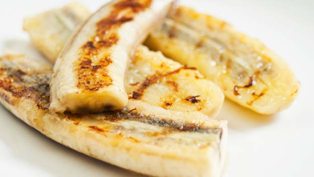 Grilled Bananas, Bananas on Grill, Summer BBQ, Summer Grilling