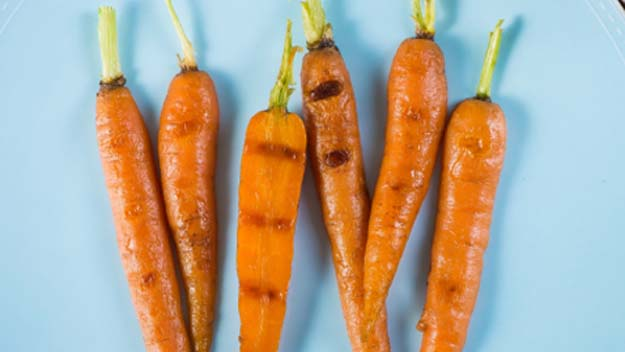 Grilled Carrots, BBQ Carrots, Summer Grilling