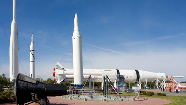 Cape Canaveral, Space Center, Kennedy Space Center, July 4th,